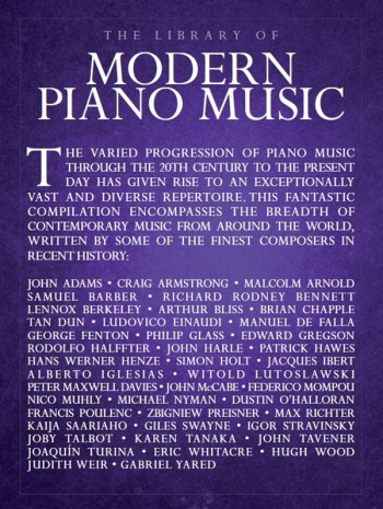 The Library Of Modern Piano Music