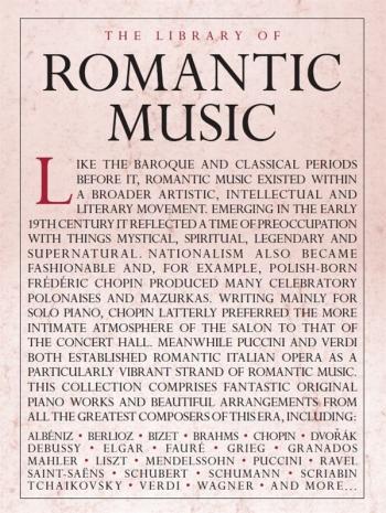 The Library Of Romantic Music: Piano Solo