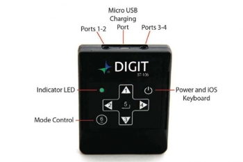 AirTurn: Digit BT106 Wireless Bluetooth Multi-Purpose Remote