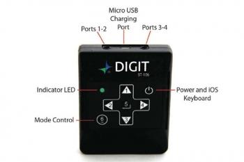 AirTurn: Digit BT106 Wireless Bluetooth Multi-Purpose Remote