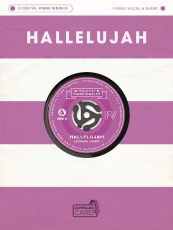Essential Piano Singles: Leonard Cohen - Hallelujah (Single Sheet/Audio Download)