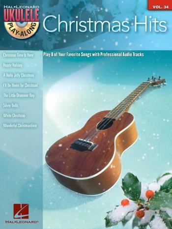 Ukulele Play Along: Vol 34: Christmas Hits: Book And Cd