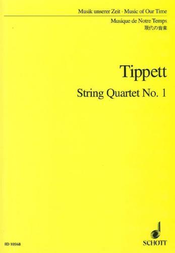 String Quartet: No1: Score (schott)