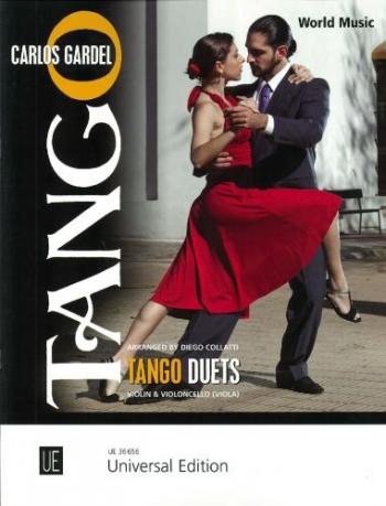 Tango Duets For Violin & Cello (Viola)  Arr Diego Collatti (Universal)