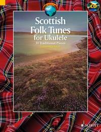 Scottish Folk Tunes For Ukulele: 35 Traditional Pieces Book & Cd  (Schott)