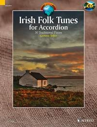 Irish Folk Tunes: 30 Traditional Pieces Accordion: Book & CD (Schott)