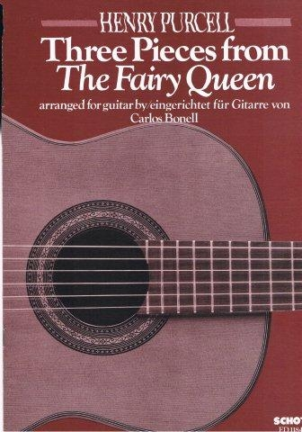 "Three Pieces From ""The Fairy Queen"" For Guitar"