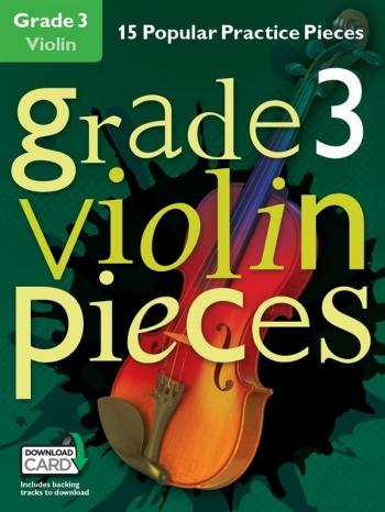 Grade 3 Violin Pieces: 15 Popular Practice Pieces Book & Audio Download (Chester)