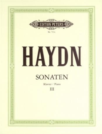 Sonatas: Vol.3: Piano (Peters)