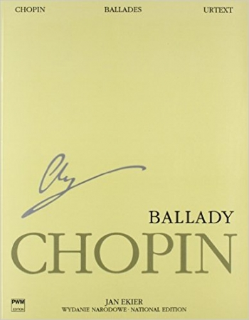 Ballades Piano National Edition Volume I: Ed Jan Ekier  (Paderewski)