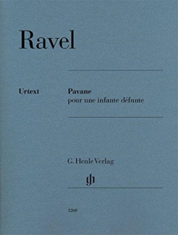 Pavane Pour Une Infante Defunte: Piano (Henle)