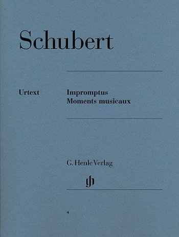 Impromptus And Moments Musicaux  Piano (Henle)