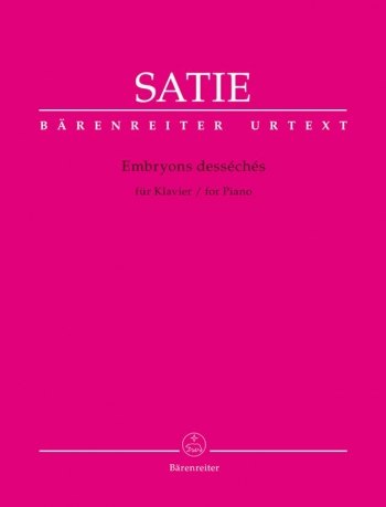 Embryons Desséchés For Piano (Barenreiter)