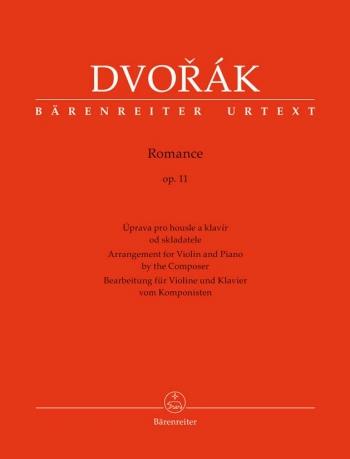 Romance Op.11: Violin & Piano (Barenreiter)