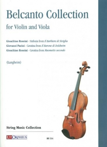 Belcanto Collection: Violin & Viola (Langheim)