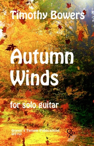 Autumn Winds For Solo Guitar
