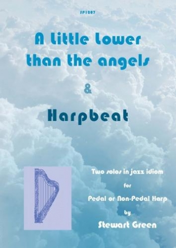 A Little Lower Than The Angels And Harpbeat: Pedal Or Non-Pedal Harp (Green)