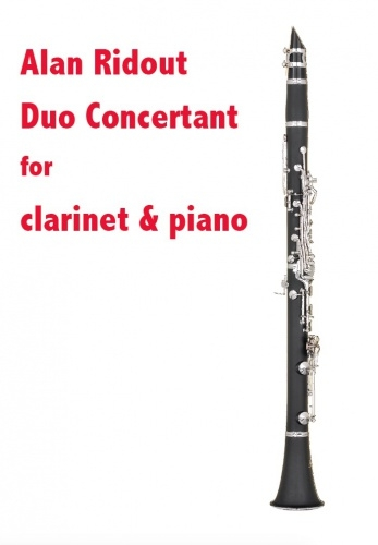 Duo Concertant For Clarinet & Piano