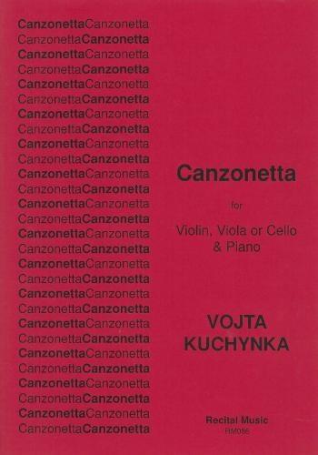 Canzonetta For Violin Viola Or Cello  & Piano