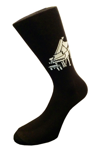 Socks With Grand Piano Design