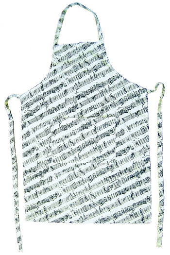 Apron Manuscript Manuscript (Black & White)
