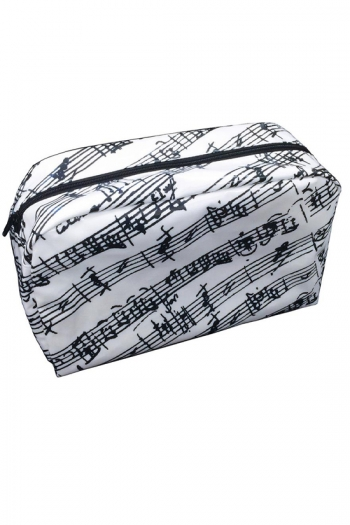 Washbag White Manuscript Design