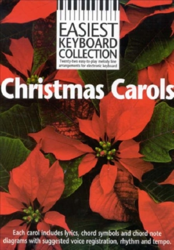Easiest Keyboard Collection Christmas Carols Keyboard: Album