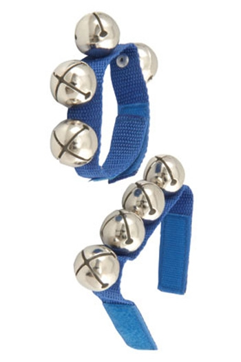 Wrist Bells: Nylon Strap With Five Bells (Chord) 2 Sets