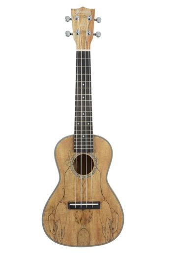 Native Spalted Maple Soprano Ukulele