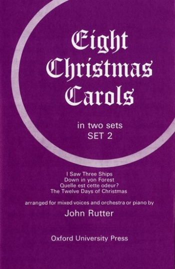 Eight Christmas Carols Set 2 (OUP)