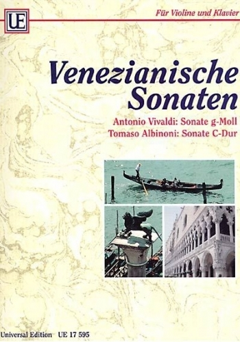 Venetian Sonatas: Vivaldi Sonata In G Minor & Albinoni Sonata In C Major: Violin & Piano (Universal)