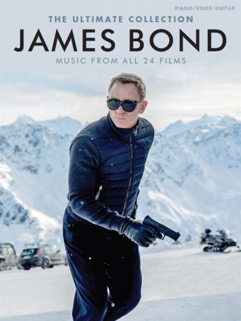 The Ultimate Collection - James Bond: Songs From All 24 Films: Piano Vocal & Guitar Chords