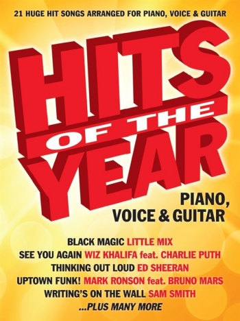Hits Of The Year 2015: Piano Vocal Guitar