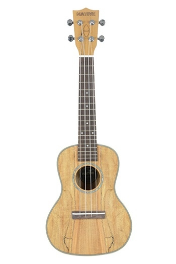Native Spalted Maple Concert Ukulele