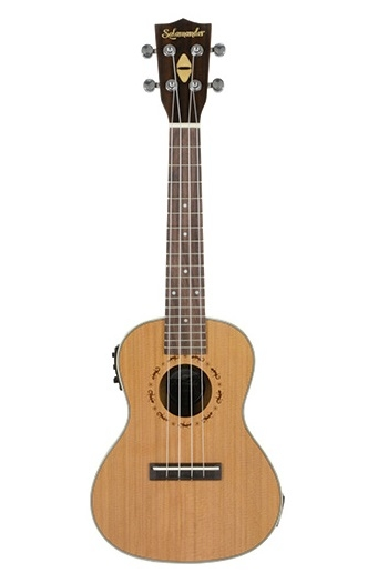 Native Salamander Concert Ukulele With Pre Amp