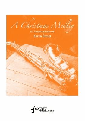 Christmas Medley For Saxophone Ensemble SAAATTB Score & Parts (Saxtet)