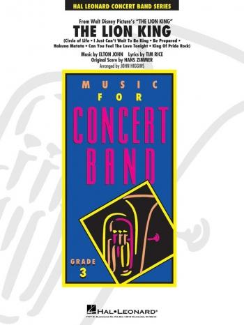 Lion King: In Concert Band: Score & Parts (Higgins)