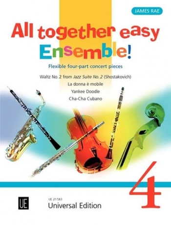 All Together Easy Ensemble Band 4: Flexible: Four Part Concert Pieces: Score & Parts (rae)
