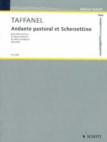 Andante Pastorale And Scherzetino: Flute & Piano (Schott)