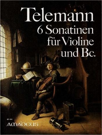 6 Sonatinas: Violin And Basso Continuo