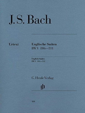 English Suites No.1-3  BWV 806-811: Piano (Henle)