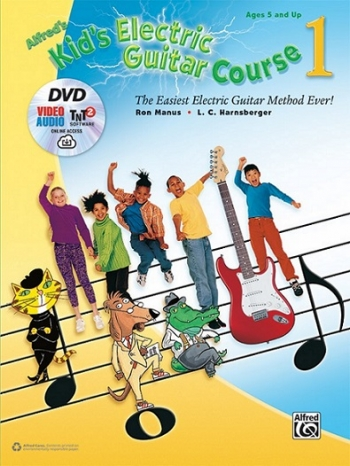 Alfred Kids Electric  Guitar Course: Book 1: Book & DVD Ages 5 And Up