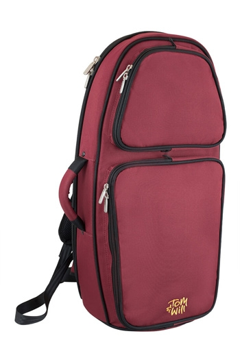 Tom And Will 26TH Black & Burgundy Tenor Horn Gig Bag