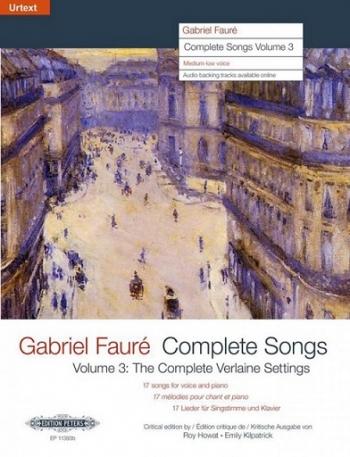 Complete Songs Vol.3 Medium Voice & Piano (Peters)