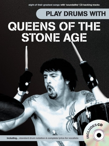 Play Drums With... Queens Of The Stone Age Book & CD