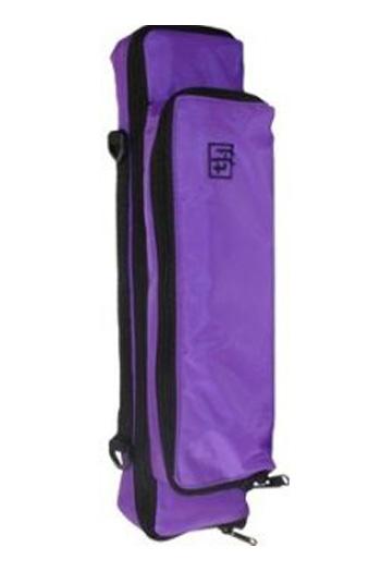 Flute & Piccolo: Piggy Back Case Cover: Purple: Trevor James