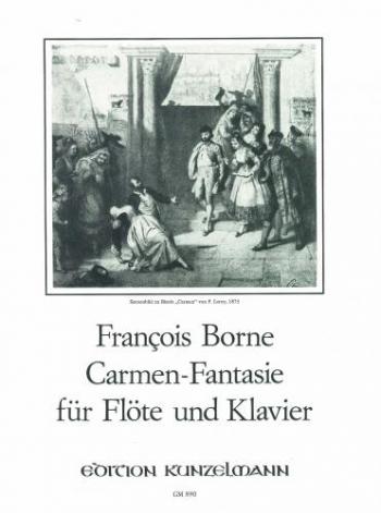 Carmen Fantasy: Flute (Peters)
