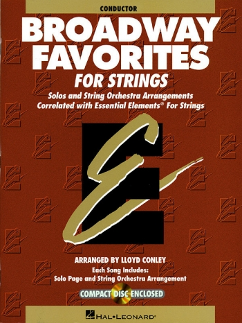 Broadway Favourites: Conductor Score & Cd (Sweeney)