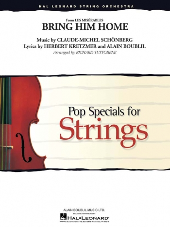 Bring Him Home From Les Miserables: String Orchestra: Pop Specials: Score & Parts