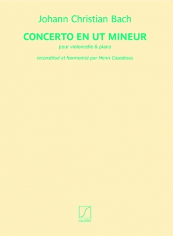 Cello Concerto En Ut Mineur(c Minor) Cello & Piano (Salabert)